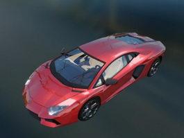 Lamborghini Aventador Roadster 3d preview