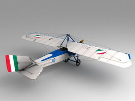 Early Aviation Aircraft 3d preview