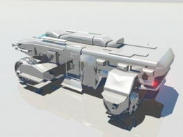 Armored Personnel Carrier 3d preview