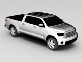 Toyota Tundra Crew Cab 3d preview
