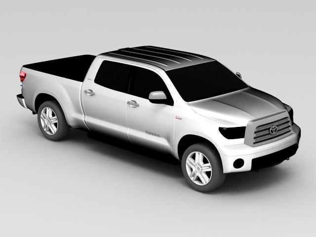Toyota Tundra Crew Cab 3d rendering