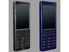 Early Smartphone 3d model preview