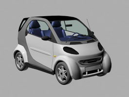 Small Microcar 3d preview