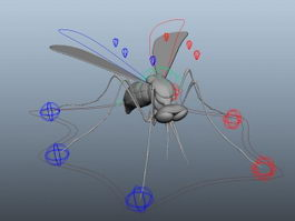 Mosquito Rig 3d model preview