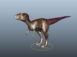 Coelophysis Rig 3d model preview