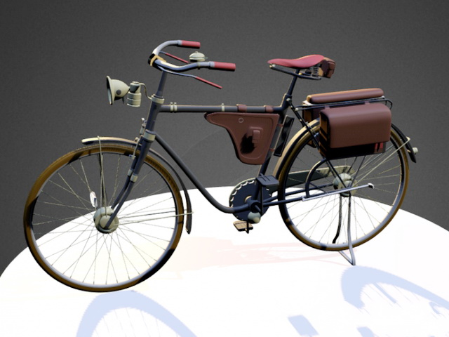 Dyton Bike 3d rendering