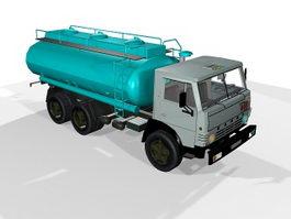 Kamaz Tanker Truck 3d preview
