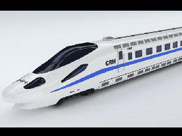 Chinese High Speed Train 3d preview