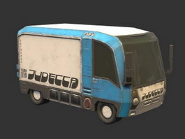 Old Van 3d preview