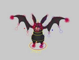 Black Bat Rig 3d preview
