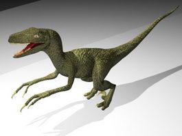 Coelophysis Dinosaur 3d model preview