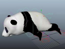 Giant Panda Rig 3d preview