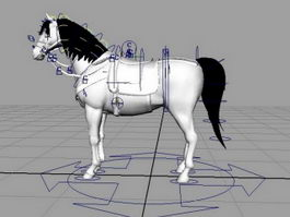 White Horse Rig 3d preview