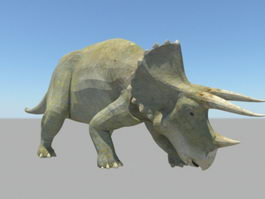 Triceratops Dinosaur 3d preview
