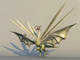 Dragon Monster 3d model preview