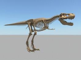 Dinosaur Skeleton 3d preview