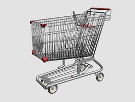 Shopping Cart 3d preview
