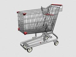 Shopping Cart 3d model preview
