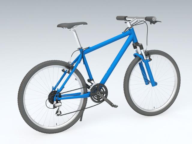 Road Bike 3d rendering