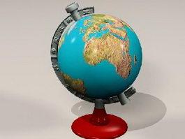 Vintage Globe 3d preview
