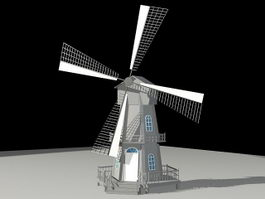 Tower Mill 3d preview