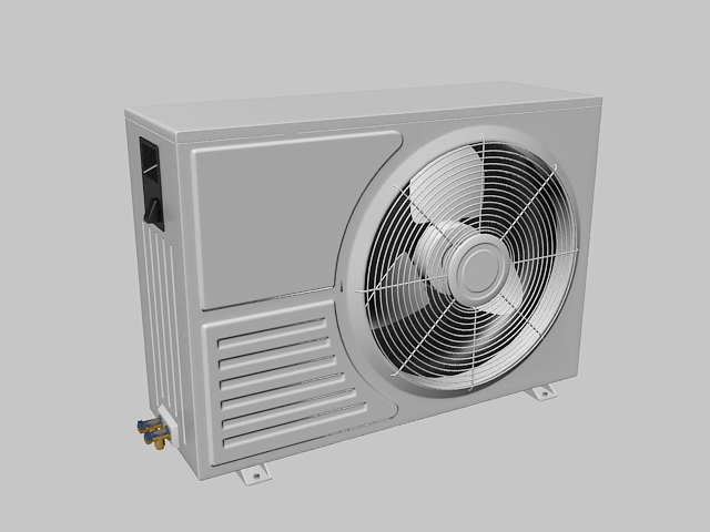 Air Conditioning Units 3d rendering