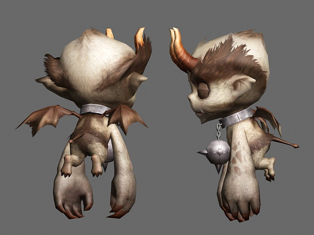 30 Incredible Monsters and Evil themed 3D Model Designs by