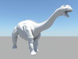 Barapasaurus Dinosaur 3d preview