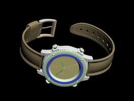 Wrist Watch 3d model preview