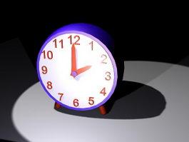 Desk Clock 3d model preview