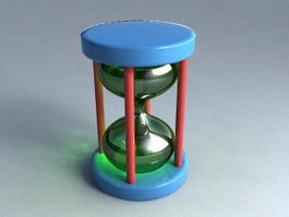 Modern Hourglass 3d preview