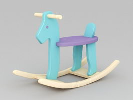 Rocking Horse 3d preview