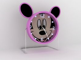 Mickey Mouse Alarm Clock 3d model preview