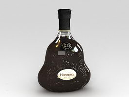 Hennessy XO 3d preview