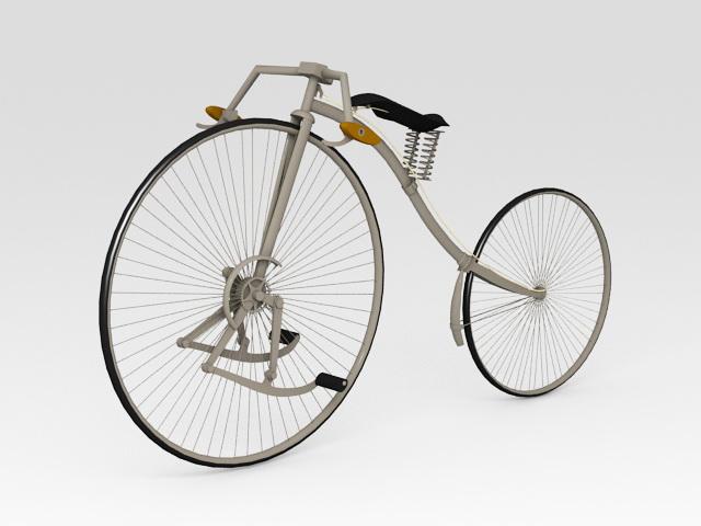 Facile Bicycle 3d rendering