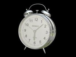 Vintage Alarm Clock 3d model preview