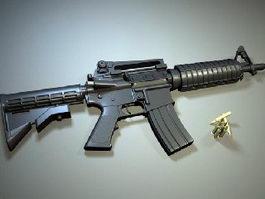 M4A1 Carbine 3d preview