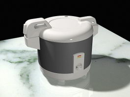 Electric Rice Cooker 3d model preview