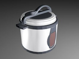 Old Pressure Cooker 3d preview