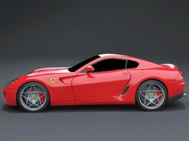 Ferrari 599 GTB Fiorano 3d preview