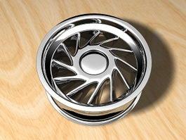 Car Rim 3d preview
