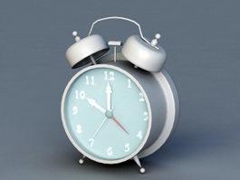 Vintage Alarm Clock 3d preview