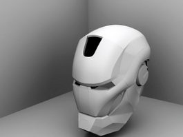 Iron Man Helmet 3d preview
