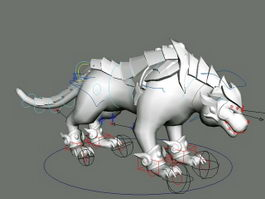 Tiger Beast Rig 3d preview