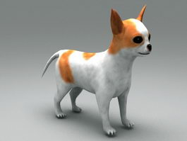 Cute Puppy 3d model preview