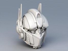 Optimus Prime Head 3d model preview