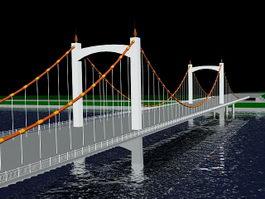 River Bridge 3d model preview