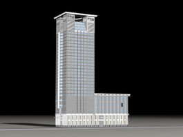 Tall Office Building 3d preview