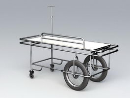 Hospital Stretcher 3d preview