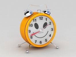 Orange Alarm Clock 3d preview